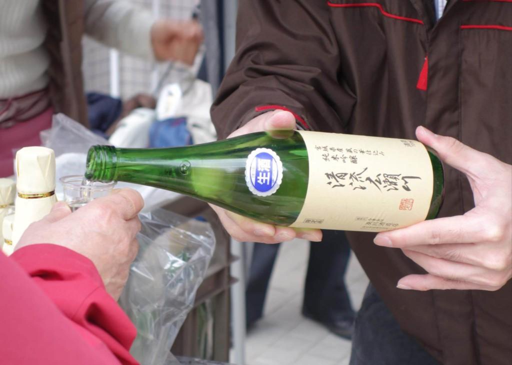 【実施報告】純米吟醸酒「清流広瀬川」の新酒試飲会が開催されました!