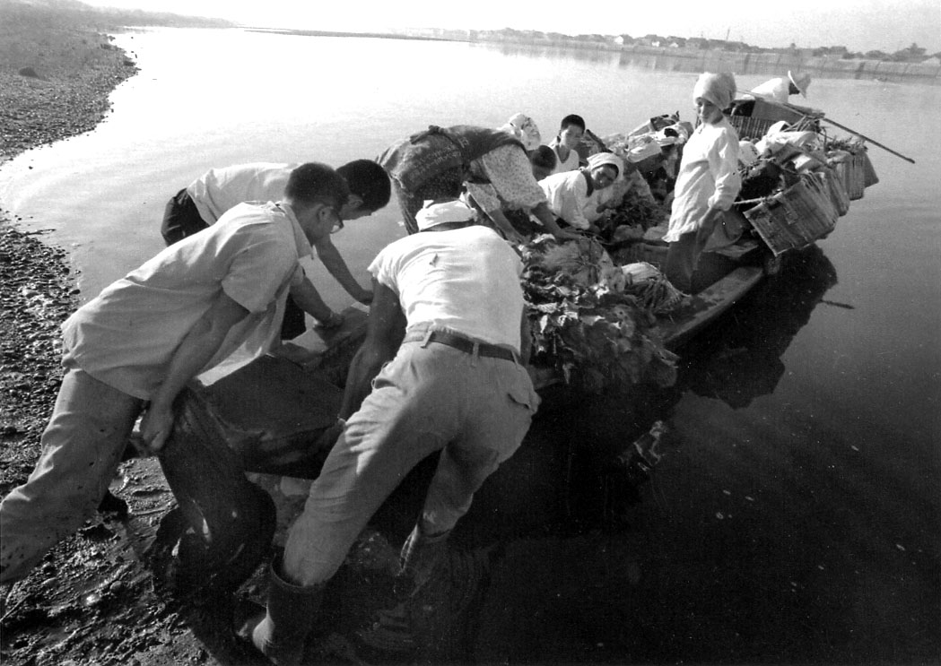 vol.9 閖上と藤塚を結んだ河口近くの渡し舟